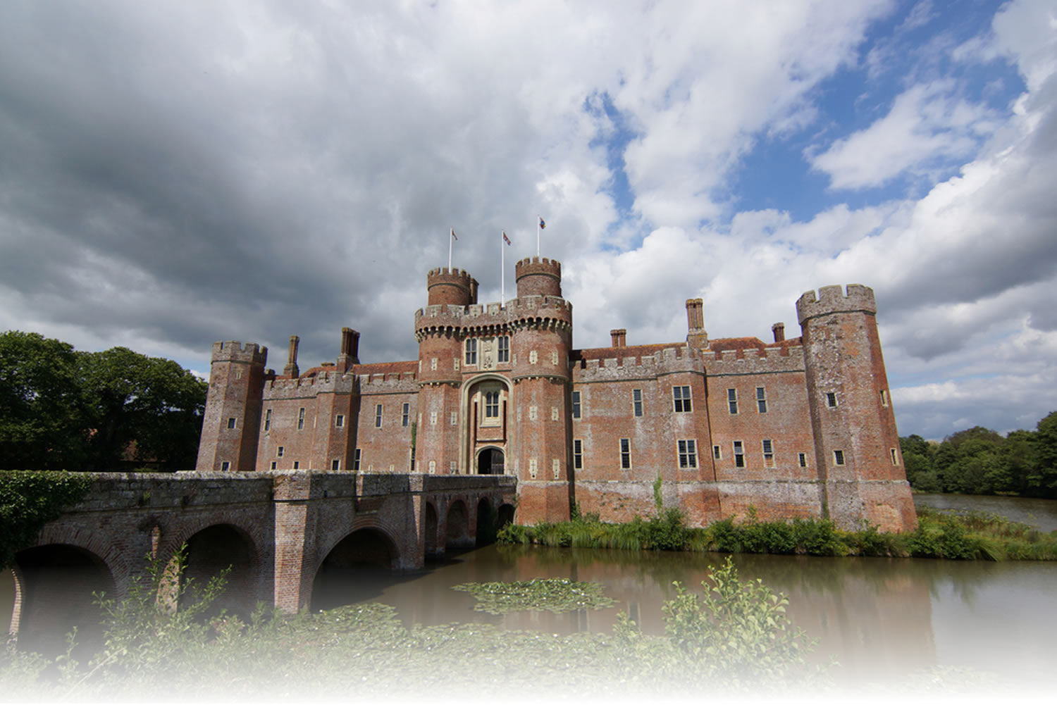 herstmonceux castle hailsham east sussex england uk image